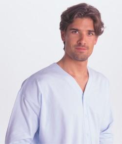 Patientenhemd V-Hals